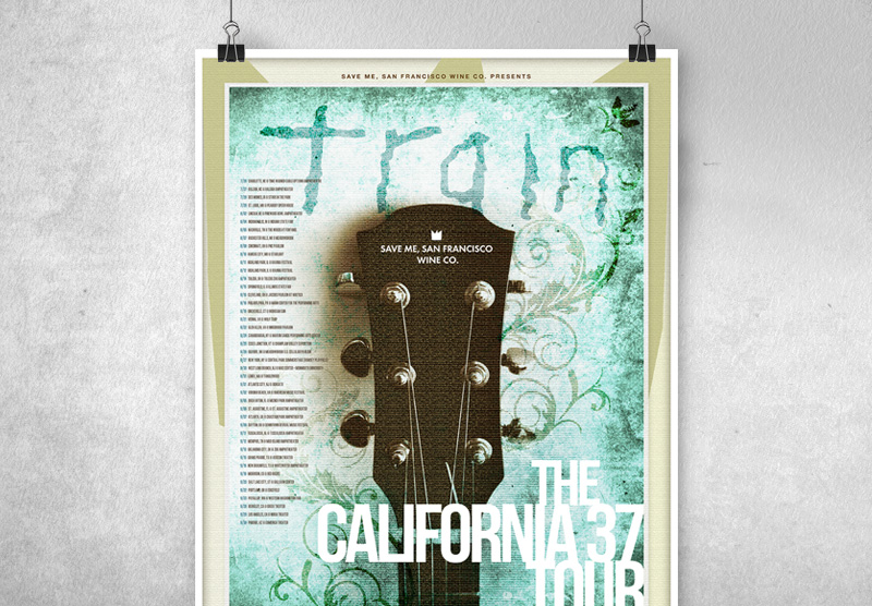 Poster Spec Design for Train Tour