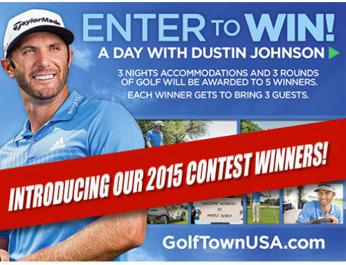 Dustin Johnson Email Postcard